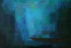 Die_Ruhe, 2013, Öl auf Leinwand, 70x100cm