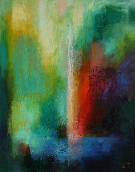 O.T., 2015, Öl auf Leinwand, 50x40cm